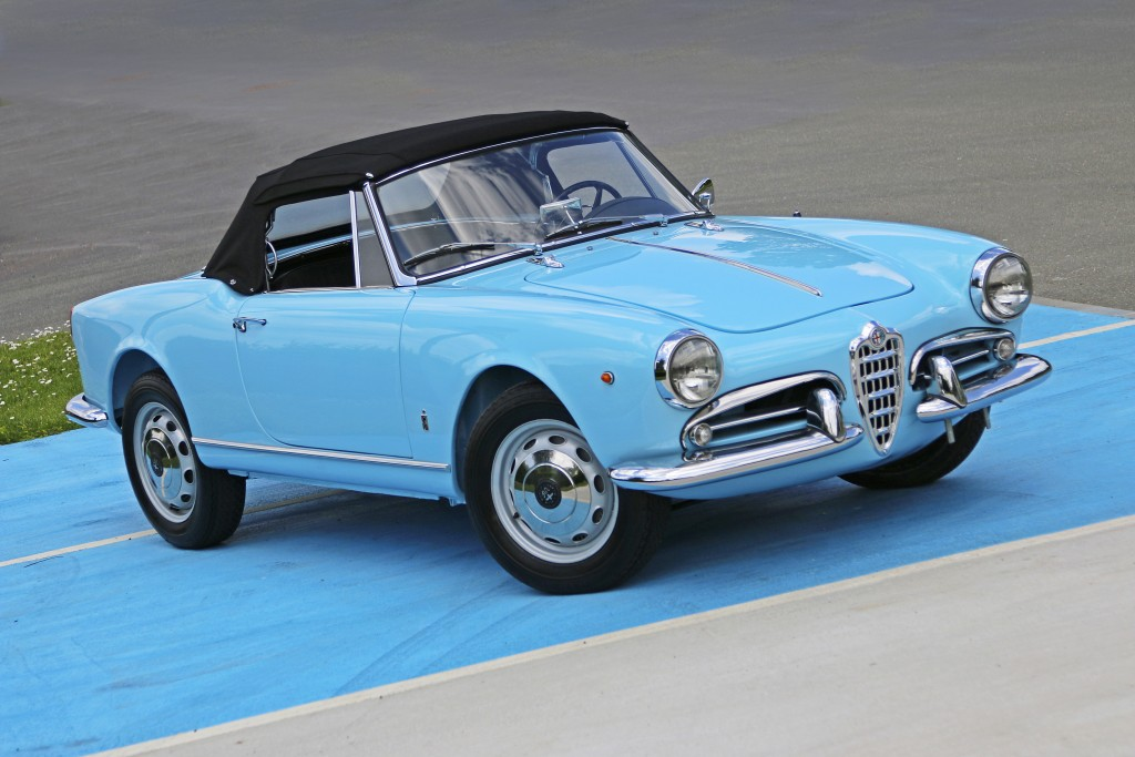 alfa romeo giulietta spider cabriolet 1960 alfa romeo. Black Bedroom Furniture Sets. Home Design Ideas