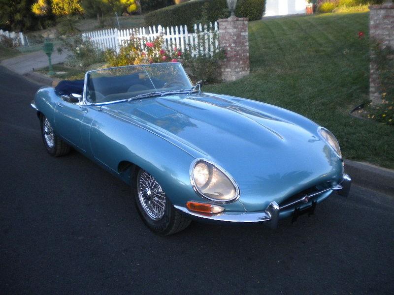 jaguar type e cabriolet 1964 jaguar type e cabriolet de 1964 prix 125000. Black Bedroom Furniture Sets. Home Design Ideas